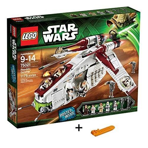 レゴ スター・ウォーズ リパブリック・ガンシップ? 75021 + レゴ 630 ブロックはずし(プレゼントし)|importshop