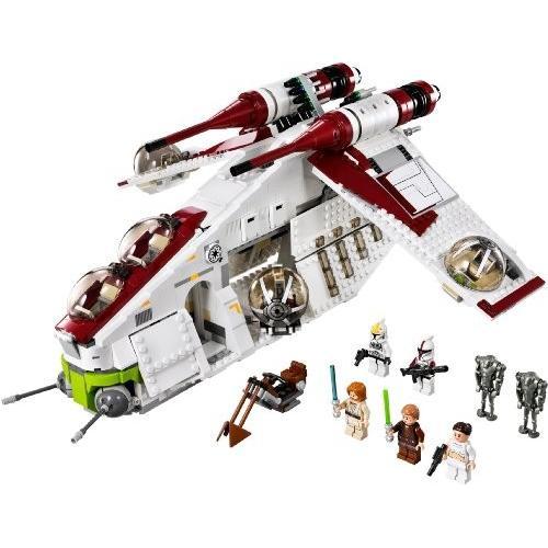 レゴ スター・ウォーズ リパブリック・ガンシップ? 75021 + レゴ 630 ブロックはずし(プレゼントし)|importshop|02