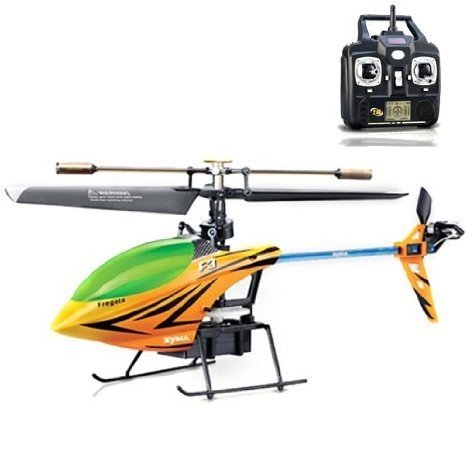 Sanny オレンジ Syma F3 2.4g 4ch LCD Remote Control Rc Single Rotor ヘリコプター おもちゃ