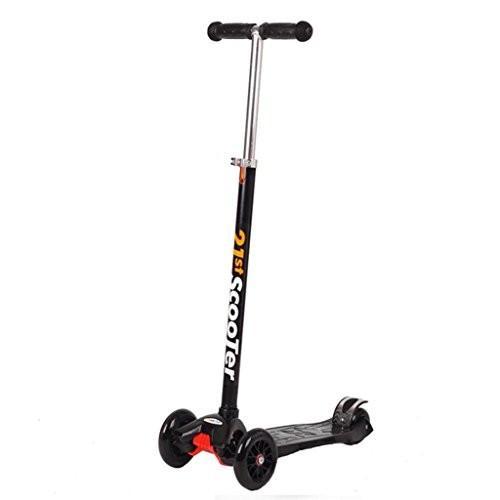 (リマブル)Rimable子供の使用マキシキックスクーター共高さ調節が可能なハンドルバー黒