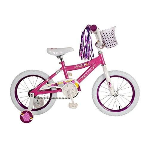 Piranha Kids Little Lady Bicycle, Pink, (Wheel Size 16-Inch)