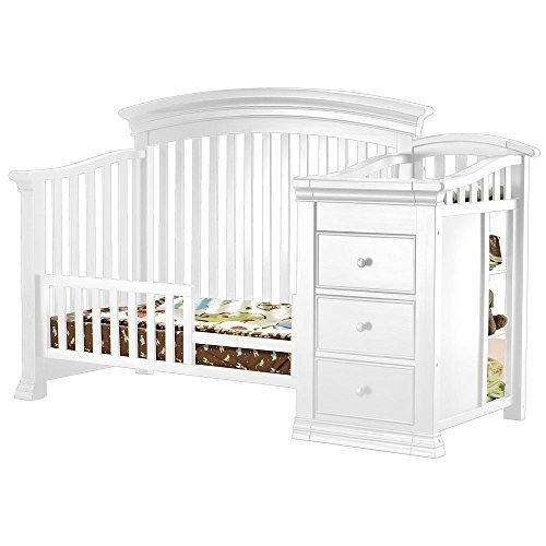 Sorelle Verona Crib and Changer Toddler Rail - French 白い by Sorelle