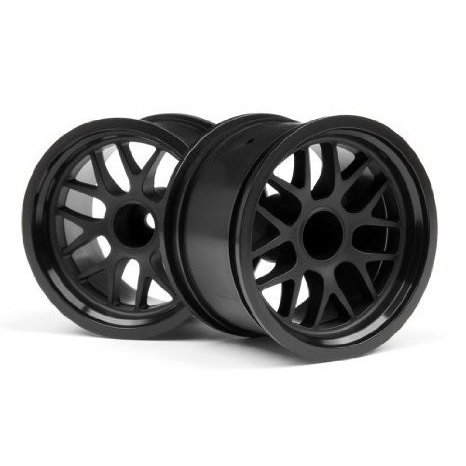 HPI RACING 109155 BBS Spoke Wheel 48x34mm 黒 14mm Offset (2) おもちゃ