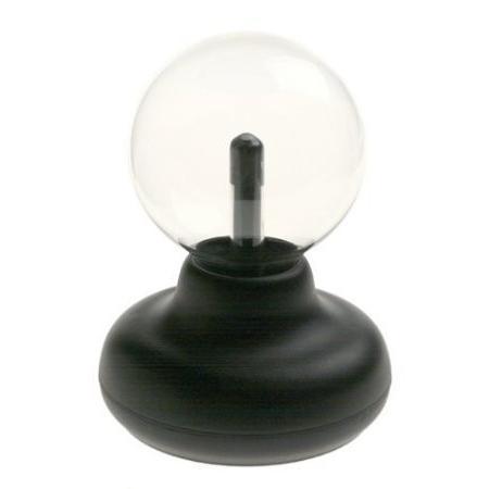 Compact, Small-Sized Tabletop Tech Puts Plasma Power At Your Fingertips - Mini Plasma Globe おもち