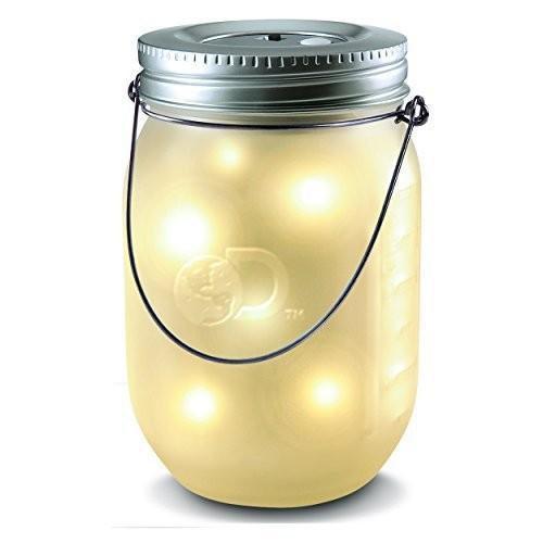 Discovery Kids Firefly Light in Mason Jar