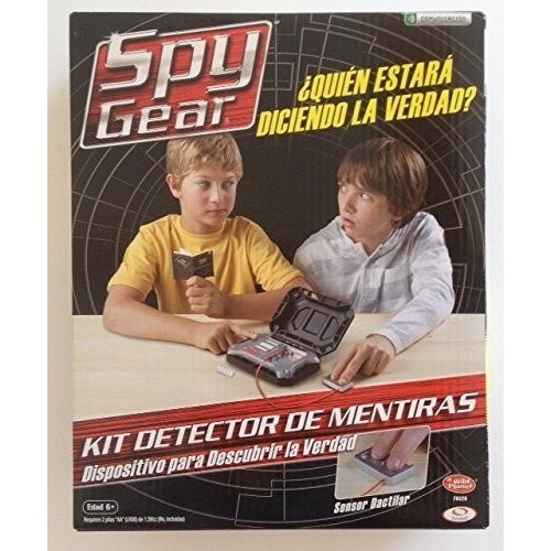 Spy Gear Lie Detector Kit (Spanish Edition)