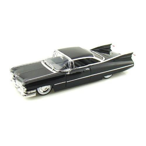 ダイキャストカー 1959 キャデラック クーペ ドゥビル ブラック 1/24