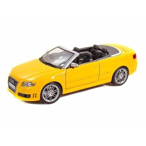 Maisto (マイスト) Audi (アウディ) RS4 1/18 黄 MA31147-YW ミニカー ダイキャスト 自動車