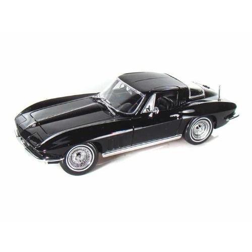Maisto (マイスト) 1965 Chevy (シボレー) Corvette 1/18 黒 MA31640-BK ミニカー ダイキャスト 自動車