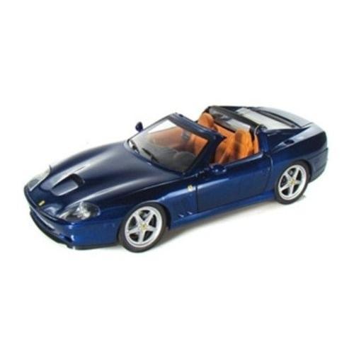 Hot Wheels (ホットウィール) Ferrari (フェラーリ) Superamerica 1/18 青 HWP4397 ミニカー ダイキャス