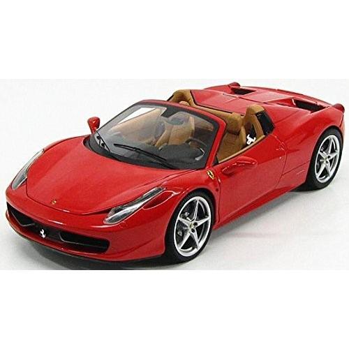 FERRARI フェラーリ 458 spider 赤 エリート hotwheels ホットウィール 1:18