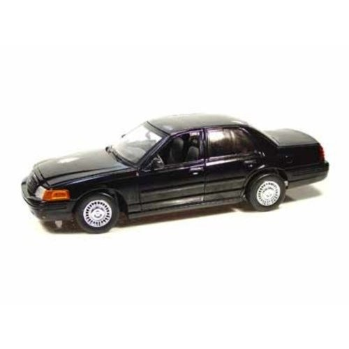 Police & Fire Ford (フォード) Crown Victoria Blank Interceptor Special Service 1/18 (黒) MM73512
