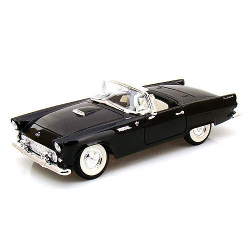 Yat-Ming - (ヤトミン) Road Legends 1955 Ford (フォード) Thunderbird W/ Hood 1/18 黒 YM92068-BK