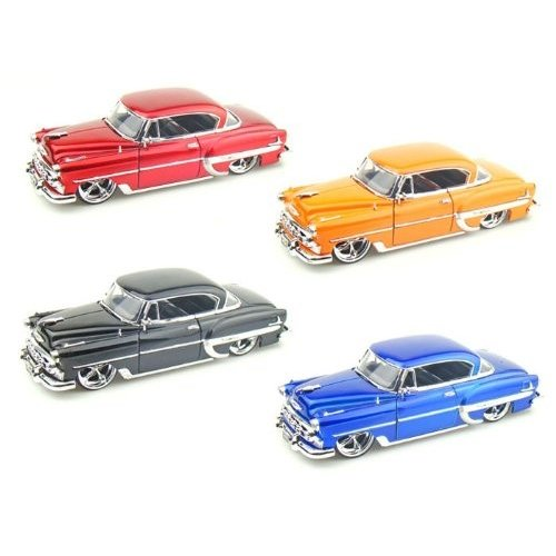 Jada Toys (ジャダトイズ) 1953 Chevy (シボレー) Bel Air 1/24 Set of 4 JA53237SD-SET ミニカー ダイキ