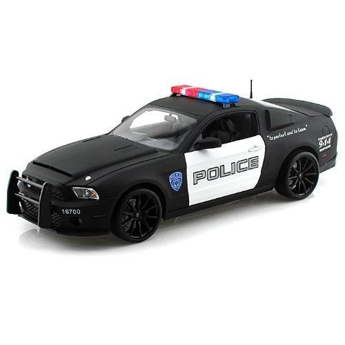 2012 Ford (フォード) Shelby GT500 Super Snake Police 1/18 SC461BK ミニカー ダイキャスト 自動車