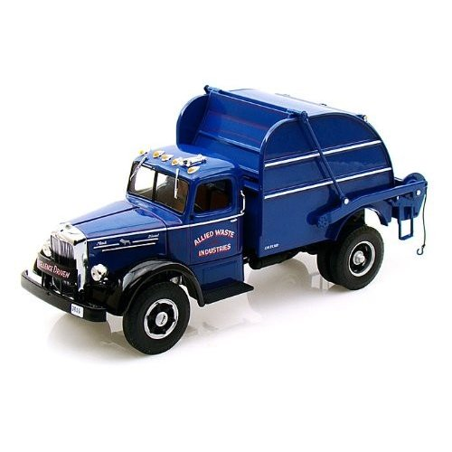 1:28 to 1:38 スケール Allied Waste Services Mack L Model with Colecto-Pak 1/34 FG183764 ミニカー ダ