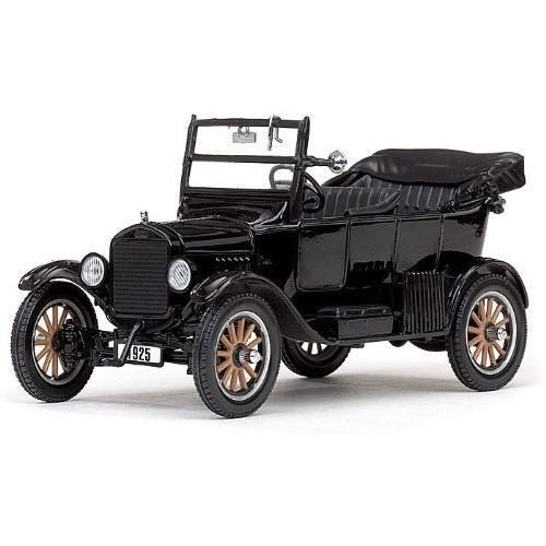 SunStar (サンスター) 1925 Ford (フォード) Model T Touring (open) 1/24 黒 SS01904 ミニカー ダイキ