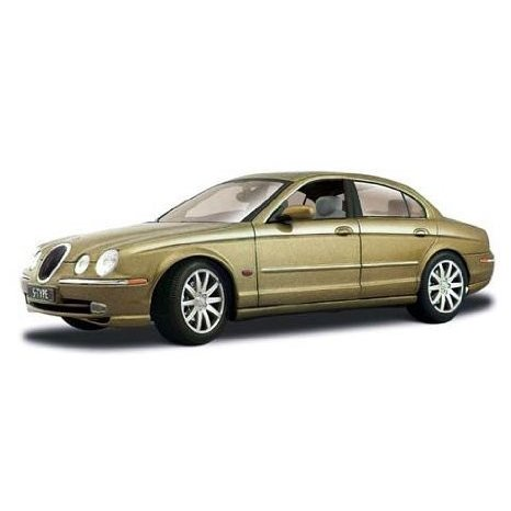 1999 Jaguar (ジャガー) S Type ゴールド 1:18 ダイキャスト モデルカー ミニカー ダイキャスト 車 自動車 ミ