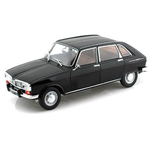 1967 Renault (ルノー) 16 1/18 黒 NO85129 ミニカー ダイキャスト 自動車