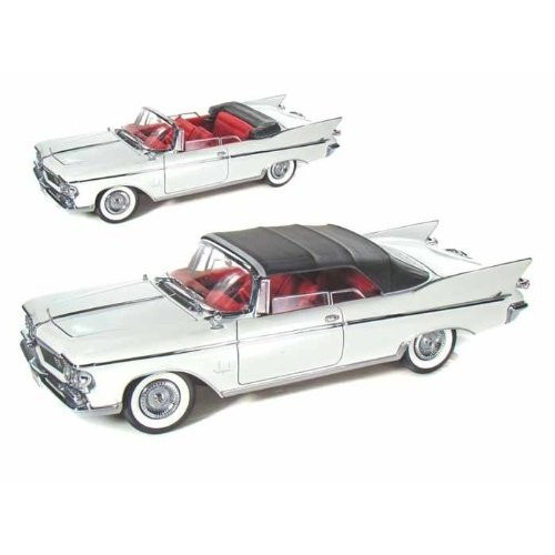 Yat-Ming - (ヤトミン) Road Legends 1961 Chrysler (クライスラー) Imperial Crown 1/18 白い YM20138-W