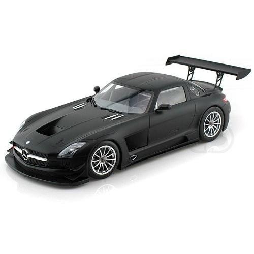 2011 Mercedes (メルセデス・ベンツ) SLS AMG GT3 Street Version 1/18 Matt 黒 MI151 113101 ミニカー
