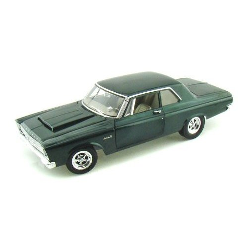Highway 61 1965 Plymouth A990 Belvedere 1/18 Mistic 緑 HC50910 ミニカー ダイキャスト 自動車