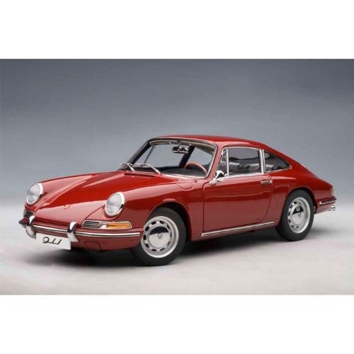 AUTOart 1964 Porsche (ポルシェ) 911 1/18 赤 AA77912 ミニカー ダイキャスト 自動車