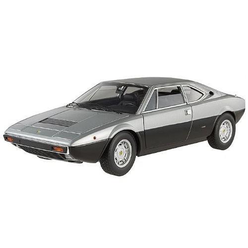 Hot Wheels (ホットウィール) Ferrari (フェラーリ) DINO 308 GT4 Elite Edition 1/18 銀/黒 HWX54
