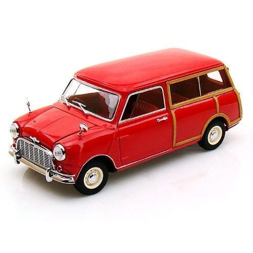 Morris Mini Traveller 1/18 赤 KY08195R ミニカー ダイキャスト 自動車