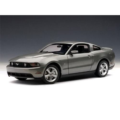 AUTOart 2010 Ford (フォード) Mustang (マスタング) GT 1/18 Sterling グレー Metallic AA72911 ミニカー