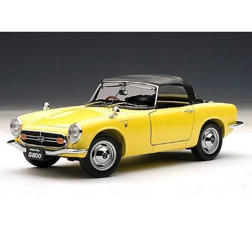Honda S800 Roadster 1966 1/18 黄 AA73277 ミニカー ダイキャスト 自動車