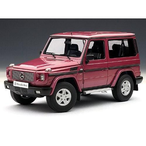 1990s Mercedes-Benz (メルセデス・ベンツ) G model SWB 1/18 赤 AA76113 ミニカー ダイキャスト 自動車