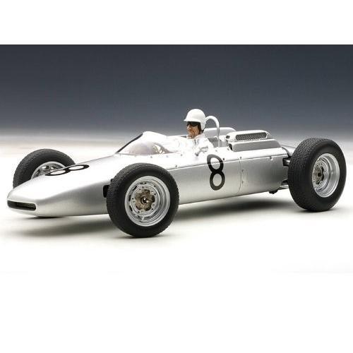 Porsche (ポルシェ) 804 Formula 1 1962 #8 Jo Bonnier Nurburgring w/ Driver Figure 1/18 AA86274 ミニ