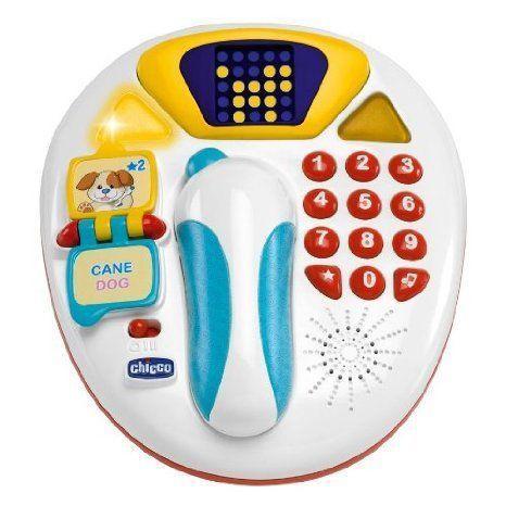 Chicco Hello Baby Animals Phone おもちゃ