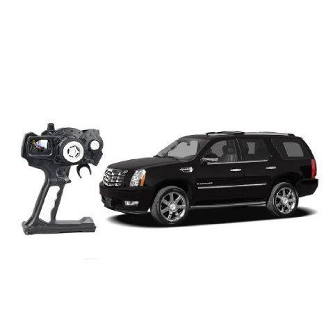 2010 New Cadillac Model with Remote Control in 黒 Color おもちゃ