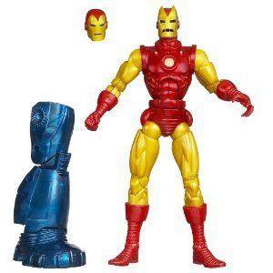 Marvel (マーブル) Iron Man (アイアンマン) Classic Iron Man (アイアンマン) フィギュア 人形 6 インチ