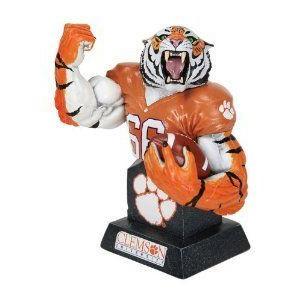 CS Moore Studios MX Collectibles College Football Clemson Tigers Team Mascot Bust フィギュア おも