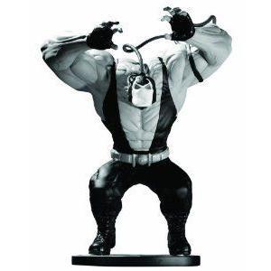 DC Collectibles Batman (バットマン) 黒 and 白い: Bane Statue By Kelley Jones フィギュア おもち