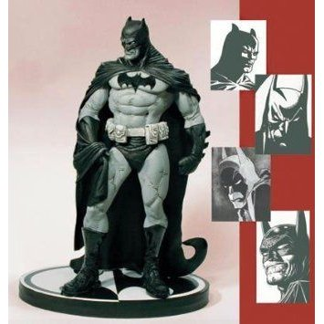 Batman (バットマン) : 黒 & 白い Mini-Statue Designed by Eduardo Risso フィギュア おもちゃ 人形