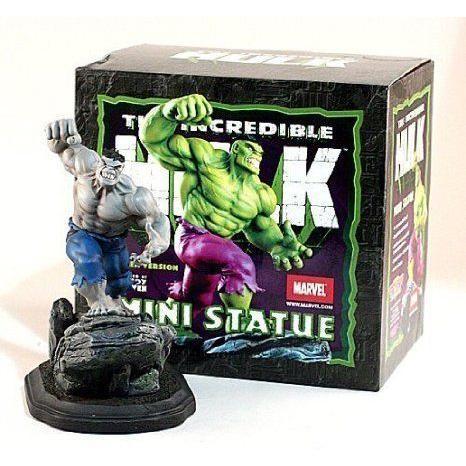 Marvel (マーブル) Inc赤ible Hulk Mini Statue (Bowen) Gray Variant フィギュア おもちゃ 人形