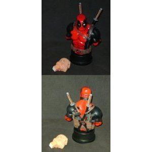 Deadpool Unmasked 2000 Marvel (マーブル) Mini-Bust 2049/5000 by Bowen Designs フィギュア おもちゃ