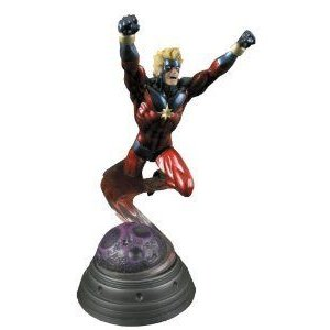 Bowen Designs Captain Marvel (マーブル) Painted Statue フィギュア おもちゃ 人形
