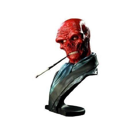 Sideshow (サイドショー) Collectibles - Marvel (マーブル) buste Legendary Scale 赤 Skull 30 cm フ