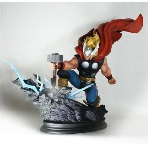 Bowen Designs Strike Down Version The Mighty Thor Painted Statue フィギュア おもちゃ 人形