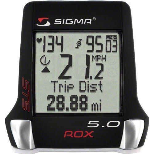 Sigma Sport ROX 5.0 Cyclocomputer Black