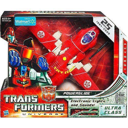 Powerglide Ultra Class 25th Anniversary Transformers トランスフォーマー Universe Classic Series ア