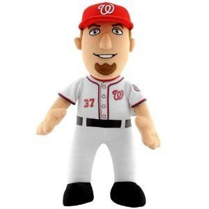 MLB Stephen Strasburg #37 Washington Nationals Plush Doll, 14-Inch ぬいぐるみ 人形