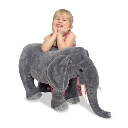 メリッサ&ダグ象のぬいぐるみ