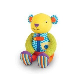 Manhattan Toy Busy Hands Bear ぬいぐるみ 人形