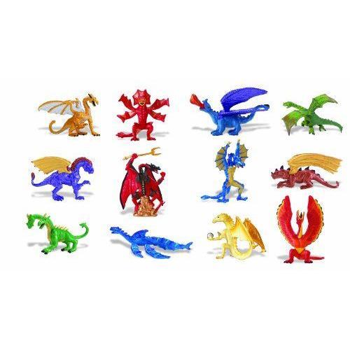 サファリ Bulk pack box Dragon Collection 682704
